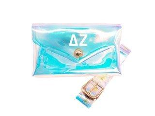 Delta Zeta Holographic Belted Fanny Pack