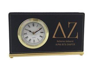 Delta Zeta Horizontal Desk Clock