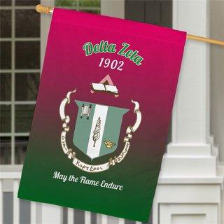 Delta Zeta House Flag