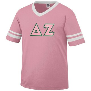 Delta Zeta Jersey With Custom Sleeves