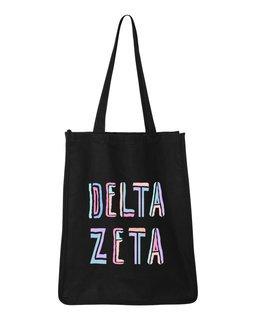 Delta Zeta Jumbo All In Tote Bag