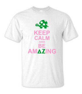 Delta Zeta Keep Calm T-Shirts