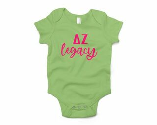 Delta Zeta Legacy Baby Outfit Onesie