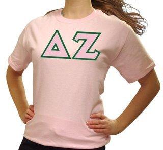 Delta Zeta Lettered T-Shirt