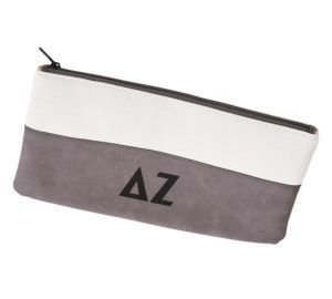 Delta Zeta Letters Cosmetic Bag