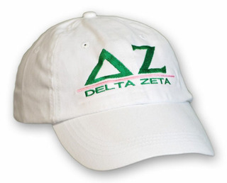 Delta Zeta World Famous Line Hat