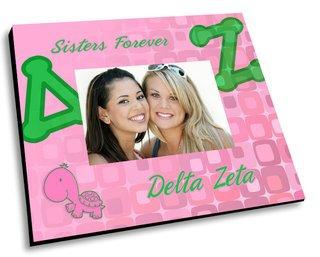 Delta Zeta Mascot Color Picture Frame