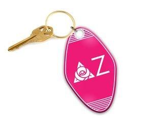Delta Zeta Mascot Motel Keychain