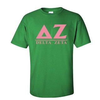 Delta Zeta Message T-Shirts