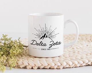Delta Zeta Mountain Mug