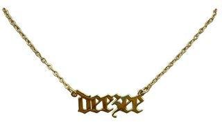 Delta Zeta Old English Necklaces