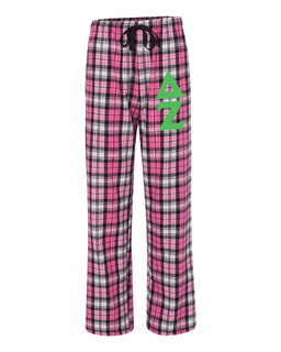 Delta Zeta Pajamas -  Flannel Plaid Pant