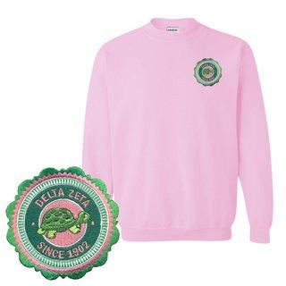Delta Zeta Patch Seal Sweatshirt