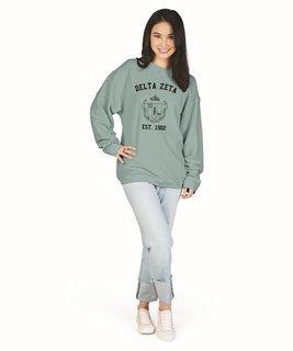 Delta Zeta Camden Crewneck Sweatshirt