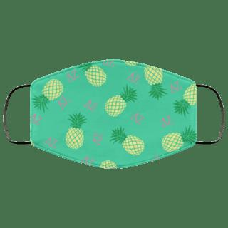 Delta Zeta Pineapples Face Mask