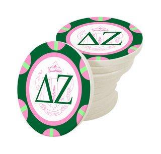 Delta Zeta Poker Chips