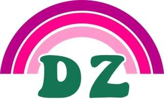 Delta Zeta Rainbow Decals