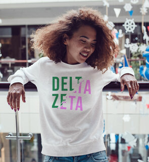 Delta Zeta Ripped Favorite Crewneck
