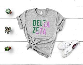 Delta Zeta Ripped Favorite T-Shirt