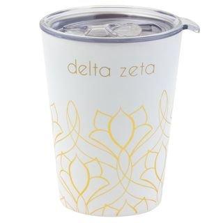 Delta Zeta Short Coffee Tumblers