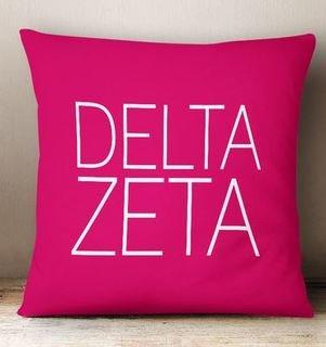 Delta Zeta Simple Pillow