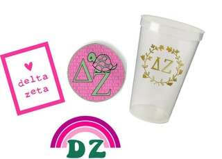 Delta Zeta Sorority Large Pack $15.00