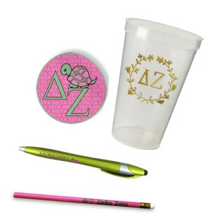 Delta Zeta Sorority Mascot Set $8.99