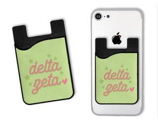 Delta Zeta Star Card Caddy