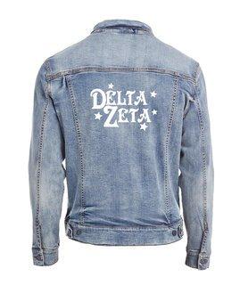 Delta Zeta Star Struck Denim Jacket