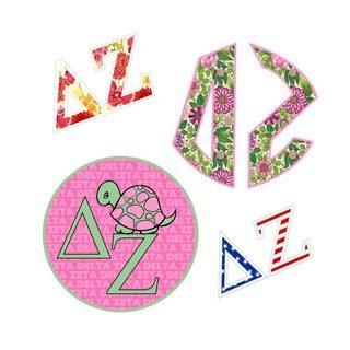 Delta Zeta Sticker Grab Bag