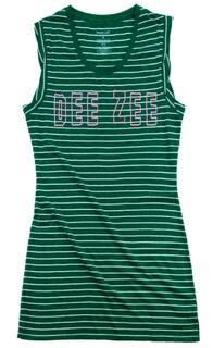 Delta Zeta Striped Tee Dress