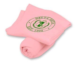 Delta Zeta Sweatshirt Blanket