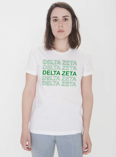 Delta Zeta Thank You For Shopping Tee - Comfort Colors