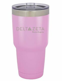 Delta Zeta Vacuum Insulated Mascot Tumbler