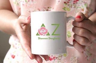 Delta Zeta White Mascot Coffee Mug