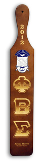 Deluxe Color Crest - Shield Paddle