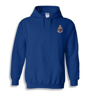 DISCOUNT-Alpha Kappa Psi Crest - Shield Emblem Hooded Sweatshirt
