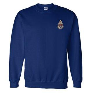 DISCOUNT-Alpha Kappa Psi World Famous Crest - Shield Crewneck Sweatshirt