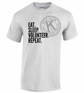 Eat. Sleep. Volunteer. Repeat Tee