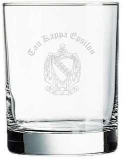 Engraved Fraternity & Sorority Rocks Glasses