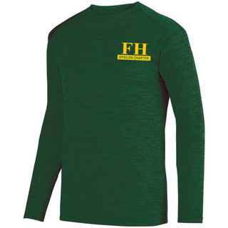 FarmHouse Fraternity- $26.95 World Famous Dry Fit Tonal Long Sleeve Tee