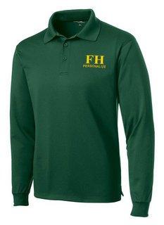 FarmHouse Fraternity- $35 World Famous Long Sleeve Dry Fit Polo