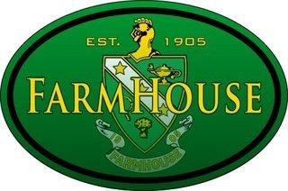 FarmHouse Fraternity Color Oval Decal