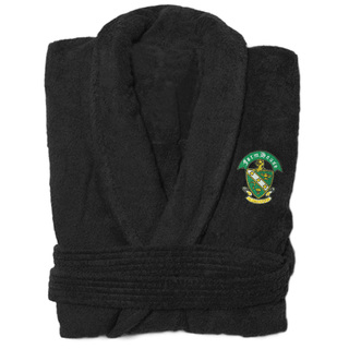 DISCOUNT-FarmHouse Fraternity Crest - Shield Bathrobe