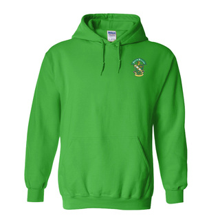 DISCOUNT-FarmHouse Fraternity Crest - Shield Emblem Hooded Sweatshirt