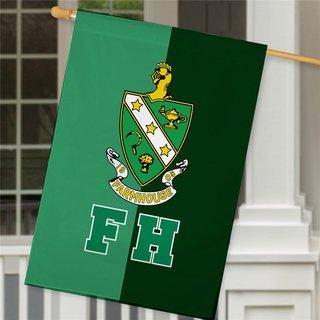 FARMHOUSE Crest House Flag