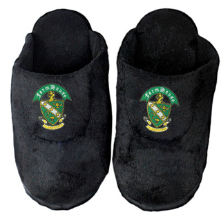 DISCOUNT-FarmHouse Fraternity Crest - Shield Slippers