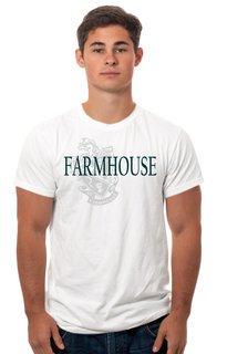 FarmHouse Fraternity Crest - Shield Tee