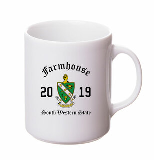 FARMHOUSE Crest & Year Ceramic Mug