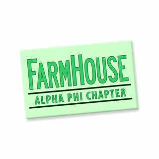FarmHouse Fraternity Custom Ceramic Magnet